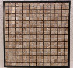 Mosaic travertine nigh