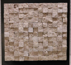 Tile mosaic for walls of travertine of 30х27,5 cm