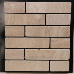 Tile finishing travertine classic of 4.8xL of cm