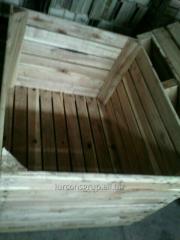 Pudła z drewna do pakowania