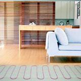 Electric heat-insulated floor of SOLELEC
