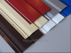 Metal lining, POLIESTER covering