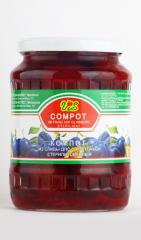 Compote from plum of traffic police, GOST 816