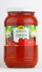 Tomato in own juice, GOST 7231-90