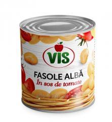 Фасоль белая в томатном соусе, РТМД