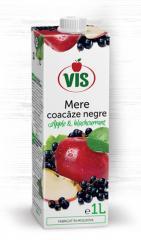 Сок яблочно-черносмородиновый осветленный Premium,