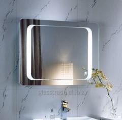 Mirror with Led illumination