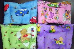 "Children's orthopedic pillow of ""Sissel"