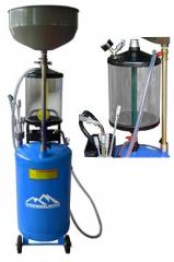 Установка для сбора масла мобильная UZM 80