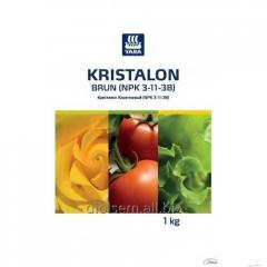 Security measure of Plants Kristalon Korichnevy (NPK 3-11-38)