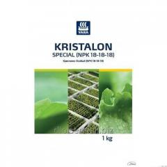 Security measure of Plants Kristalon Osoby (NPK 18-18-18)