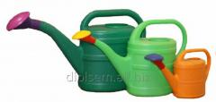 The watering can is garden.
