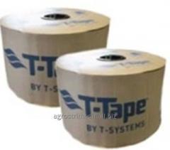 Капельная лента T-TAPE, 6 mil, 10-1350, 20-380,