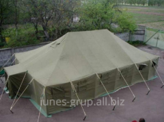 The tent is army