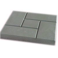 Form of an artificial stone blocks Square