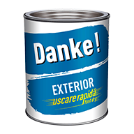 EMAIL DANKE EXTERIOR 0.75L, alb