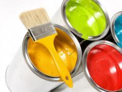 Краски атмосферостойкие для наружных работ