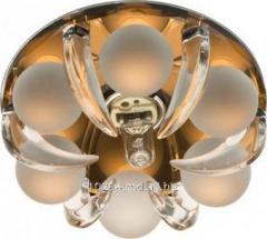 Светильник декоративный встраеваемый со стеклом