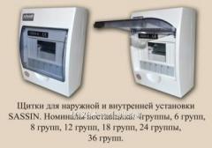 Щит распределительный наружной установки Sassin 3SD6-6