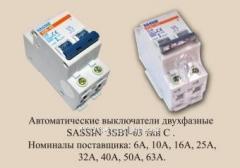 Выключатель автоматический Sassin 3SB1-63