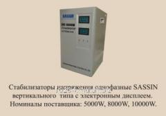 Стабилизатор напряжения SASSIN SVC 10000 VA (в)