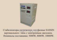 Стабилизатор напряжения SASSIN SVC 8000 VA (в)
