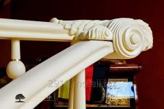 Σκάλες με άξονα ξύλινες