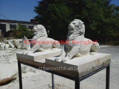 Скульптура Lions
