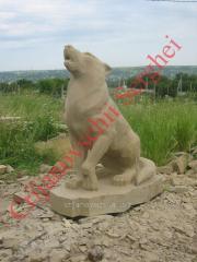 Скульптура Wolf