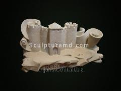 Скульптура Миниатюра сорокской крепости