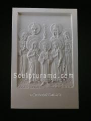 Icon of Saints of romanov