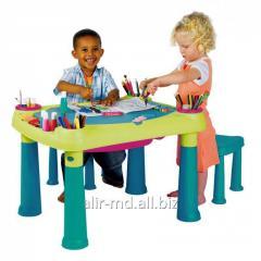 Стол детский + 2 стула (игрушка) CREATIVE TABLE