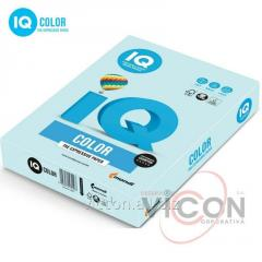 Paper color iq color A4, 160 g/m2, bl29 of light