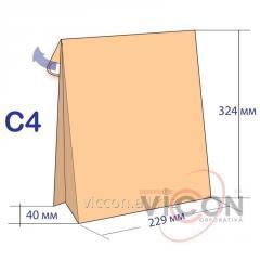 Конверт C4 c донным расширением 229 x 324 x 40 мм