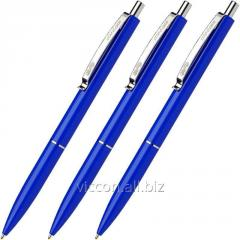 Automatic ball pen, schneider k15, blue S3083 case