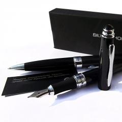 Набор сувенирный, ручка шариковая+перьевая
