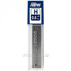 Грифеля для механического карандаша FORPUS, 0.5