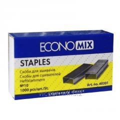 Скобы для степлера №10, ECONOMIX
