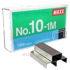 Скобы для степлера №10, MAXX, 1000 шт. 1-M