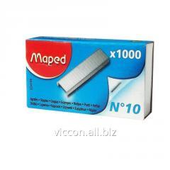 Скобы для степлера №10, MAPED