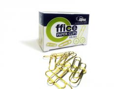 Paper clips, 26 mm, golden, forpus FO60911