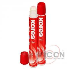 Glue silicate with a fabric membrane, kores, 20