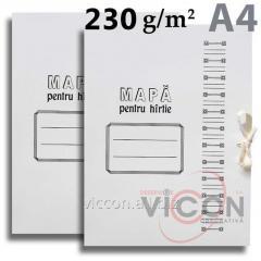 Папка картонная на завязках, А4, 220 gr/m2