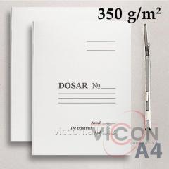 Папка-скоросшиватель, картонная, А4, LUX, повышенной плотности, 360 gr/м2