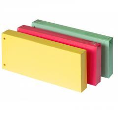 Разделители картонные цветные, 105 x 240 mm,