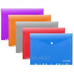 Folder pe buton și velcro