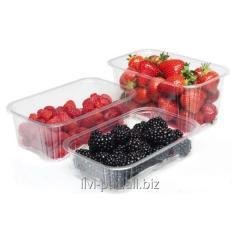Пластиковая упаковка для ягод