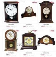 Настольные часы торговой марки RHYTHM