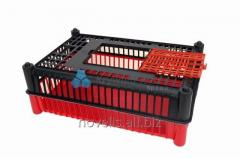 Cage a code 200 for transportation of a live bird