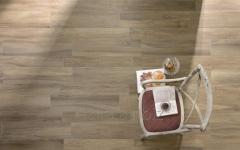 Ceramic tile of the Cisa Mywood series for a floor
